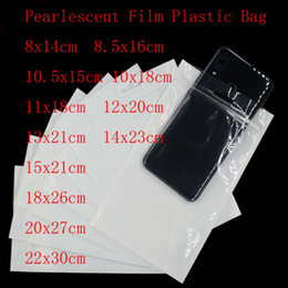 self sealing transparent bags NZ - Wholesale 200pcs Lot White Transparent Self Seal Zipper Plastic Poly Bags Clear Jewelry Zip Lock Bags Retail Packing Bags&pouch