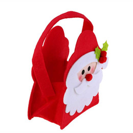 $enCountryForm.capitalKeyWord Australia - Christmas Gift Bags Handbag Children Noel Tree Decor Santa Claus Candy Bag Merry Christmas Decorations for Home