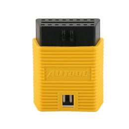 elm327 adapter NZ - AUTOOL Obd2 16 Pin Yellow Extension Universal Extension Connector For ELM327 AL519 Easydiag Obd Scanner Adapter