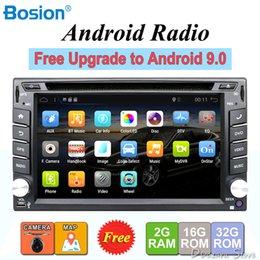 2 din android gravador de fita de rádio do carro de áudio estéreo Para Universal 2din autoradio dvd GPS Navegação Volante Wifi Mapa em Promoção