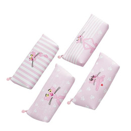 $enCountryForm.capitalKeyWord Australia - sweet pink panther Pen pencil bags storage organizer student stationery school office supply kid gift pouch