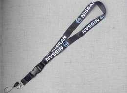 $enCountryForm.capitalKeyWord Australia - Black Lanyard For Nissa GT-R Auto Racing Keyring for Phone ID Card Hanging Strap