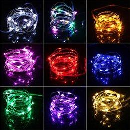 Luci di Natale 2M Impermeabile in rame mini Fairy String Light Fairy Lights Fai da te Bottiglia di vetro artigianale LED String Lights