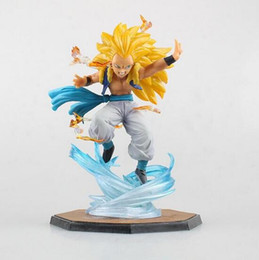 gotenks action figure Australia - NEW hot 16cm Dragon ball Gotenks Dragonball Super saiyan action figure toys Christmas gift collectors