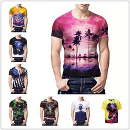 d2dd165f New fashioN t shirt fat meN online shopping - New biscuit sandwich D  printing T shirt