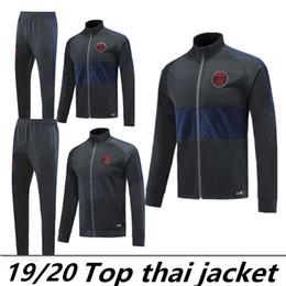 paris tracksuit 2019 - Paris tracksuit 19 psg soccer jogging jackets 2019 2020 MBAPPE PSG FR maillot de foot football jacket training suit chea