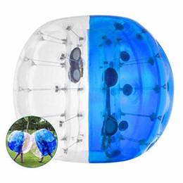 $enCountryForm.capitalKeyWord Australia - Safty Environmental Protection 0.8mm PVC 1.5m Air Bumper Ball Body Zorb Ball Bubble Football Bubble Soccer Zorb Ball For Adult Children