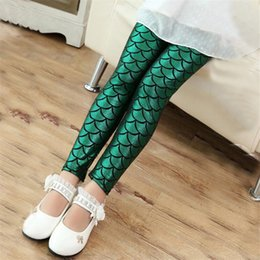 male leggings NZ - INS male and female children's fish scales leggings tight magic tight magic color slim women's pants children's pants
