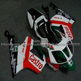 $enCountryForm.capitalKeyWord Australia - 23colors+Screws red white green motorcycle Fairing For Honda VTR1000SP1 2002-2006 RC51 ABS plastic kit