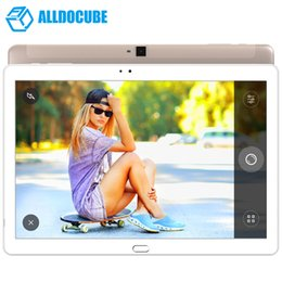 9.7 inch android tablet phone call UK - ALLDOCUBE Free Young X7 Fingerprint Tablet PC 10.1 inch 1920*1200 IPS Android 6.0 4G Phone Call MT8783V-CT Octa Core 3GB 32GB