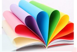 $enCountryForm.capitalKeyWord UK - Color copy paper 500 sheets 80g pink yellow print color a4 paper handmade folding wholesale 70g