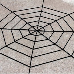 gothic toys Australia - Gothic Spooky Plush Spider Web Net Halloween Decoration Haunted House Bar Props Party Prank Trick Supplies Simulation Plush Toy
