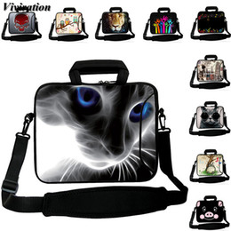 Neoprene Sleeve Macbook Australia - Laptop Case 15 13 12 14 17 10 Unisex Shoulder Bags Viviration Sleeve Messenger Handbag 15.6 Inch Notebook Bag For MacBook