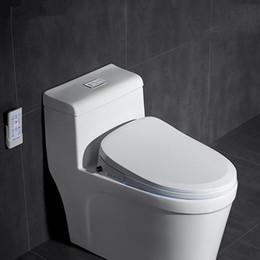 Wholesale Intelligent Smart Toilet Bidet Cover Intelligent Bidet Heat Clean Dry Massage Intelligent Toilet Seat