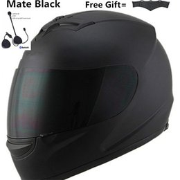 hot motorcycle helmets Australia - HOT SELL 2019 newest system Motorcycle Full Face Helmet Sun Shield Bluetooth Matte Black Size M (55-56 CM) XXXL size 65cm