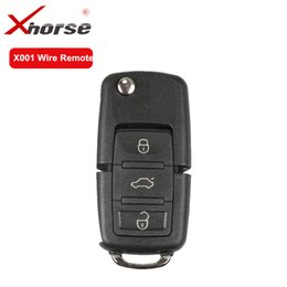 $enCountryForm.capitalKeyWord Australia - XHORSE X001 Wire Remote Key For B5 Type 3 Buttons Universal Remote Key Work with VVDI2 and VVDI Key Tool 10 PCS  lot