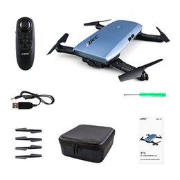 Remote Helicopter Toy Camera Australia - JJRC H47 ELFIE Drone Dron Foldable RC Pocket Selfie Drones with WiFi FPV 720P HD Camera Quadcopter Helicopter Remote Control Toy