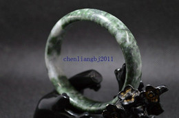 $enCountryForm.capitalKeyWord Australia - 60 mm beautiful bangle Natural Chinese Dark green jade hand-carved bracelet