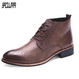 Discount office men ankle shoes - Mens Pointed Toe Dress Shoes Casual Men Shoes Fashion Men Oxford Flats Comfortable Office Men Dress Ankle Shoes Plus Siz