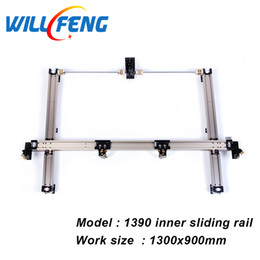 $enCountryForm.capitalKeyWord Australia - 1390 Whole Set DIY Inner Slide Guide Rail For Assemble Co2 Laser Cutter Engraving Machine Including Belt Tube Support