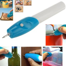 Discount engraver machines - Mini Engraving Pen Electric Carving Pen Machine Graver Tool Engraver Steel Jewellery Engraver Pen Kit