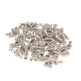 flat computer Canada - 100Pcs M5x10mm Flat Head Hard Drive HDD Screw for Computer PC Case
