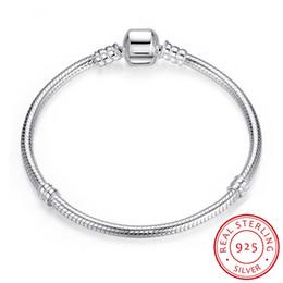 $enCountryForm.capitalKeyWord Australia - Vecalon Christmas SALE Authentic 100% 925 Sterling Silver Snake Chain Bangle & Bracelet Luxury Jewelry 17-23CM