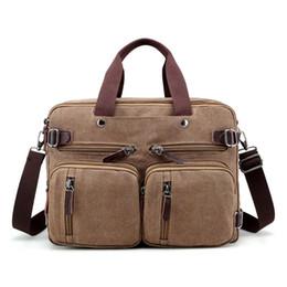 $enCountryForm.capitalKeyWord Australia - Laptop Backpack Messenger Bag Multifunction Briefcase 15 Inch Laptop Bag for Men