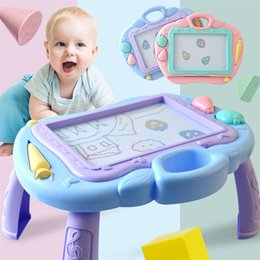 painting write board Australia - Multi-Function Big Size Magnetic Drawing Board Desk Toys Painting Doodle Games For Children Girls Educational Writing Table Toy