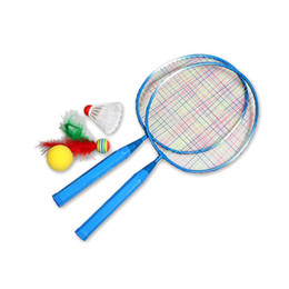 $enCountryForm.capitalKeyWord UK - Hot 1 Pair Youth Children's Badminton Rackets Sports Cartoon Suit Toy for Children DO2