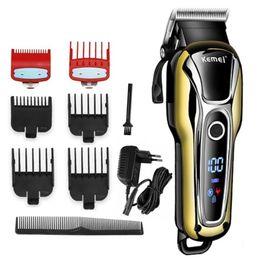 Black Cutters Australia - Barber shop hair clipper professional hair trimmer for men beard electric cutter hair cutting machine haircut cordless corded