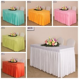 $enCountryForm.capitalKeyWord NZ - 1PC Customized White Red Black 21 colors Solid Plain Polyester Wedding Candy Table Cloth Cover Conference Reception Table Skirt