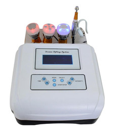 needle mesotherapy machine UK - Portable Electroporation Device no Needle Mesotherapy Machine Meso for Skin Care Facial Lifting Electrophoresis Cooling Ultrasonic