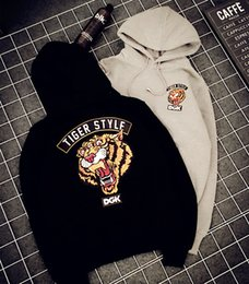 $enCountryForm.capitalKeyWord Australia - Brand Hoodie for Women Men Hooded Sweater Fashion Mens Hoodie Skateboard Sport Streetwear Tiger Print Loose Autumn Long Sleeve Cotton Blend