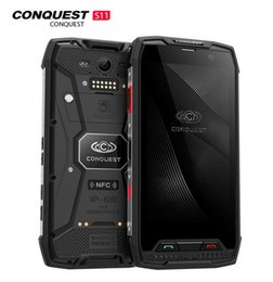 $enCountryForm.capitalKeyWord Australia - Conquest S11 64GB ROM Rugged Phone IP68 Android 7.0 MTK6757 Octa Core 6GB RAM 5.0 inch HD Screen Smartphone NFC OTG GPS Fingerprin