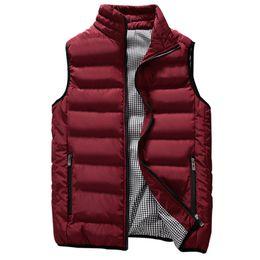 Slim Fit Sleeveless Jacket Australia - Brand men Vest 2019 Spring Male Waistcoat Slim Fit sleeveless jacket Autumn casual vest man plus size S- 5XL dropshipping