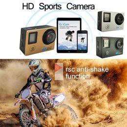 Figures Australia - Remote Control Sports Camera HAMTOD H12 WiFi 4K HD 750mAh Super Small Mini Figure 170 Degree Waterproof 30 Meters Motion Camera