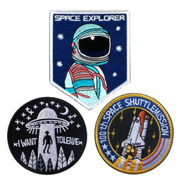 $enCountryForm.capitalKeyWord NZ - VP-207 HOT! Space Explorer Embroidered Morale patches 100th space shuttle mission I want to leave Badge tactiacl patch for cap Armband