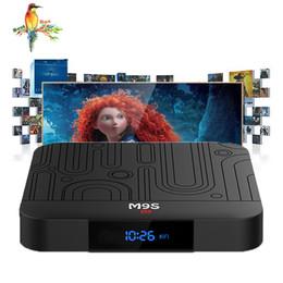 Media Player Australia - Factory best seller M9S W1 Set-top TV Box 2GB RAM DDR3 16GB Android 7.1 Amlogic S905W Quad-core CPU 2.4GHz WiFi ROM 4K Media Player