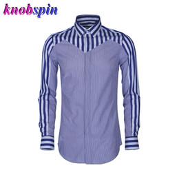 Mens Plus Size Silk Shirts NZ - Contrast Multi-Striped Mens Shirt 2019 Fashion Slim Casual shirts men high quality Cotton Silk Camisa masculina Plus size 4XL 48