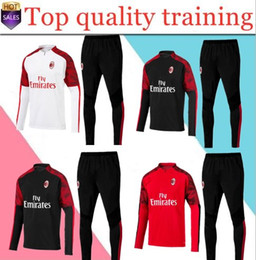 Wholesale Top quality huality AC Soccer Jersey adult short sleeve kit Milan HIGUAIN Soccer Shirt KAKA training suit CALHANOGLU BONUCCI foo