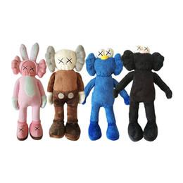 New Items For Kids Australia - 50cm KAWS Plush Toys Originalfake Toy Sesame Street Stuffed Animals For Children Kids Holiday Birthday Gifts Novelty Items CCA11619 30pcs