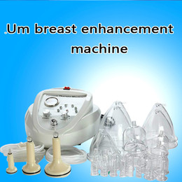 Discount vacuum cupping machines - 2019 Vacuum Massage Therapy Enlargement Pump Lifting Breast Enhancer Massager Bust Cup Body Shaping Beauty Machine CE,DH