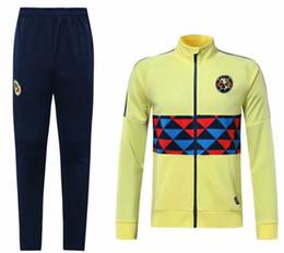 a317a882c Club America Jackets UK - wholesale 1920 Mexico club America jacket  training suit 19 20 GUERRON