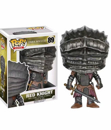 Dark Figures NZ - Funko Pop 89# Dark Souls Red Knight Action Figure Anime Model Pvc Collection Toys for Birthday Gifts