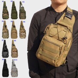 TacTical shoulder bags online shopping - Outdoor Sports Bag Shoulder Camping Hiking Bag Tactical Backpack Utility Camping Travel Day Packs Trekking Messenger Bags MMA2414