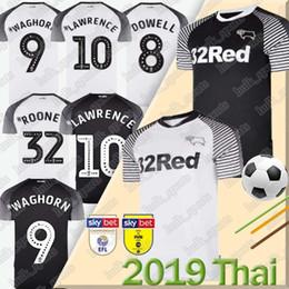Rooney jeRsey online shopping - rooney Derby County soccer jerseys home away camisetas de fútbol MARRIOTT LAWRENCE WAGHORN men football shirts