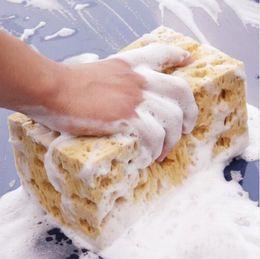 Car washing window brush online shopping - 17 cm Honeycomb Big Durable Car Coral Sponge Cleaning Car Macroporous Washing Sponge Car Cleaning Sponge CCA11031