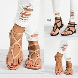 651166844 Shoe For Beach Wedding Australia - New Hot Women Sandals Gladiator Summer  Shoe Female Casual Flat