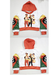 sublimation printing clothing Australia - Any color Any Printing Custom made Salt N 8 Ball 3D Sublimation Printing crop hoody hoodie Plus Size Clothing